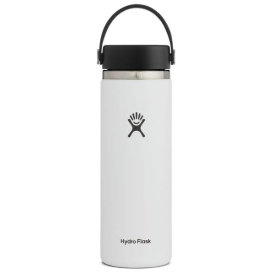 Hydro Flask 20Oz Wide Mouth W/Flex Cap 2.0 - White