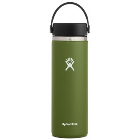 Hydro Flask 20Oz Wide Mouth W/Flex Cap 2.0 - Olive