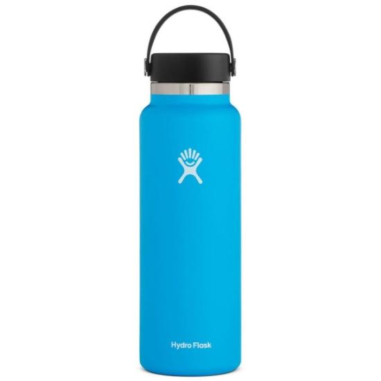 Hydro Flask 40Oz Wide Mouth W/Flex Cap 2.0 - Pacific