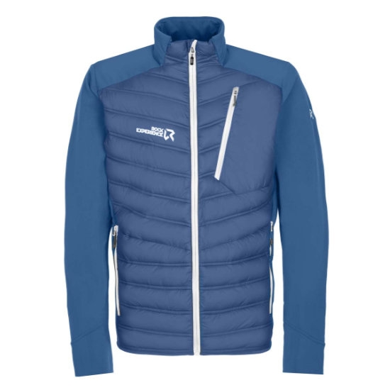 Rock Experience Parker Hybrid Jacket - Moroccan Blue