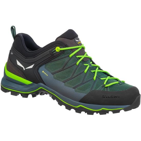Salewa MTN Trainer Lite Gtx - Green Myrtle/Ombre Blue