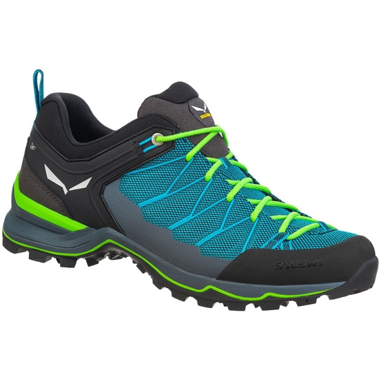Salewa MTN Trainer Lite - Blue Malta/Fluo Green