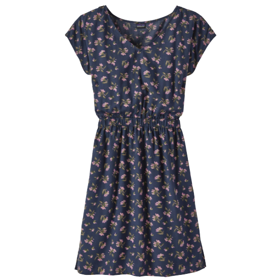 Patagonia June Lake Dress W - Sweet Peas