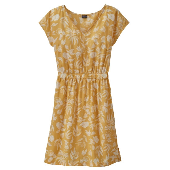 Patagonia June Lake Dress - Fiber Flor