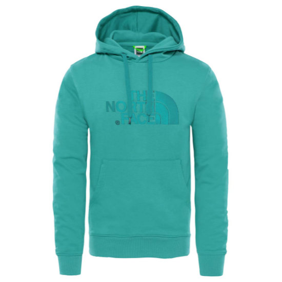 The North Face Light Drew Peak Pullover Hoodie - Fanfare Green