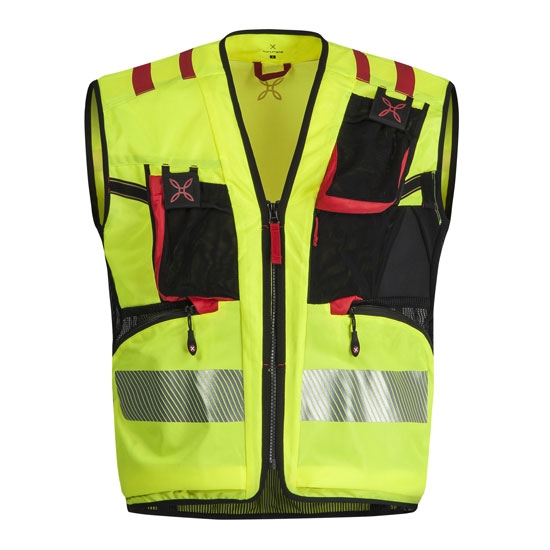 Montura Workframe Operator Evo 2 Vest - Giallo Flou/Rosso