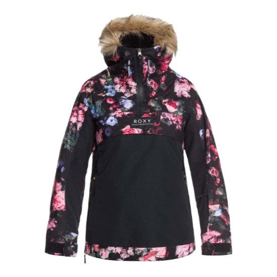 Roxy Shelter Jacket W - True Blk Blom