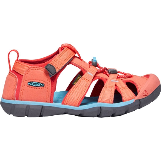 Keen Seacamp II CNX Kids - Coral/Poppy Red