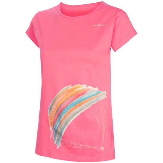 Trangoworld Parapente Tee W - Pink