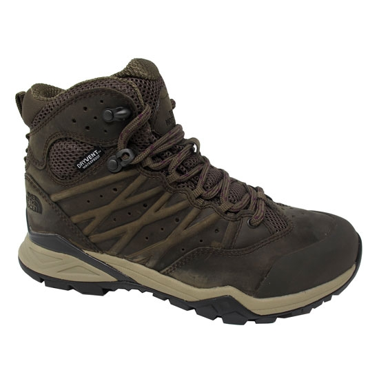 The North Face Hedgehog Hike II Mid Wp W - Bipartisan Brown/Pamplona Purple