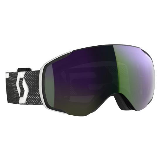 Scott Ski Vapor S2 - Black/White/Enhancer Green Chrome
