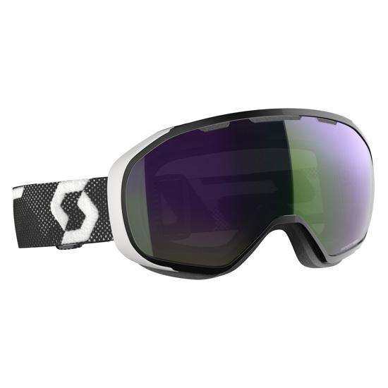 Scott Fix S2 - Black/White/Enhancer Green Chrome
