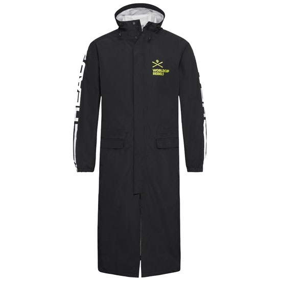 Head Race Rain Coat - Black