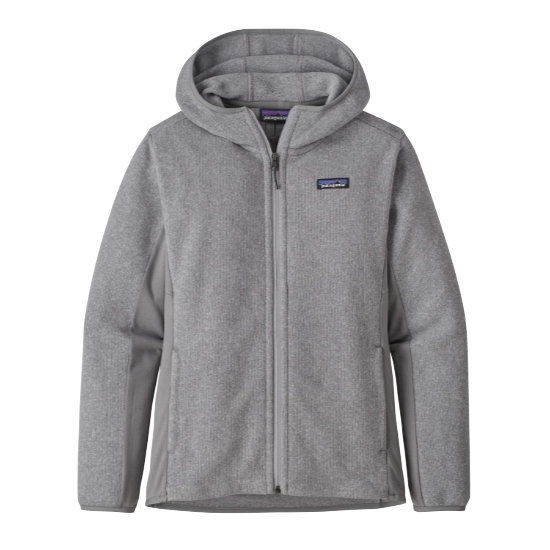 Patagonia Better Sweater Lw Hoodie W - Feat Grey