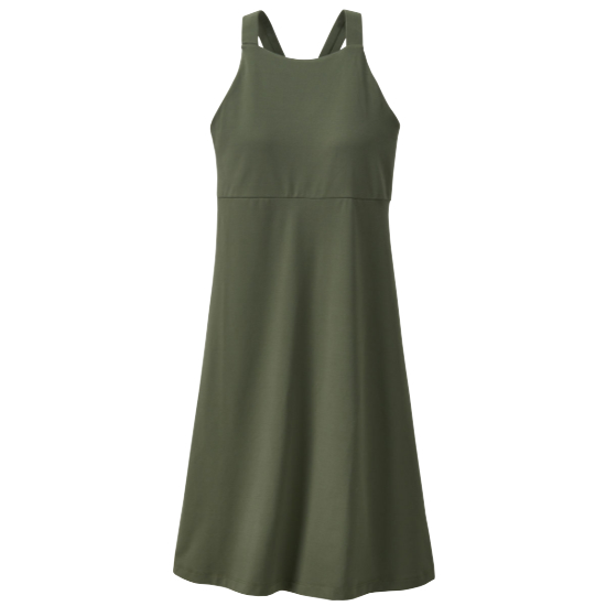 Patagonia Magnolia Spring Dress W - Kale Green