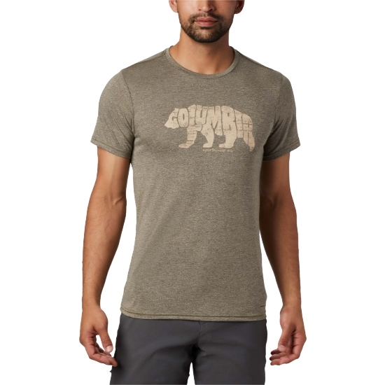 Columbia Terra Vale II Tee - New Olive Heather G