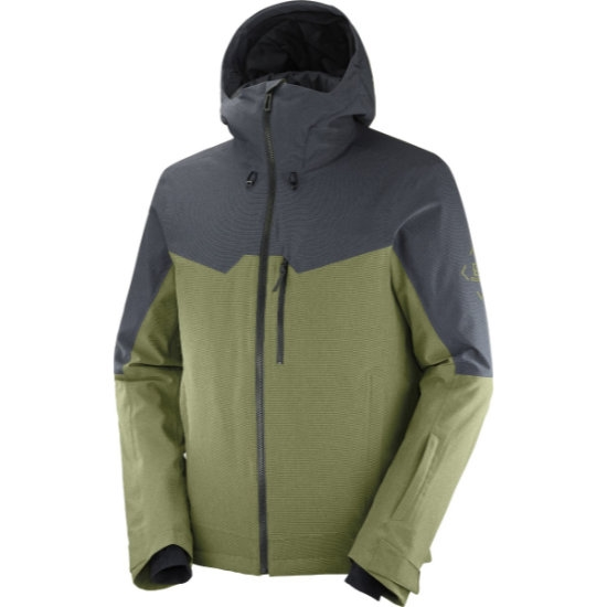 Salomon Untracked Jacket - Martini Ol/Ebony/Heather
