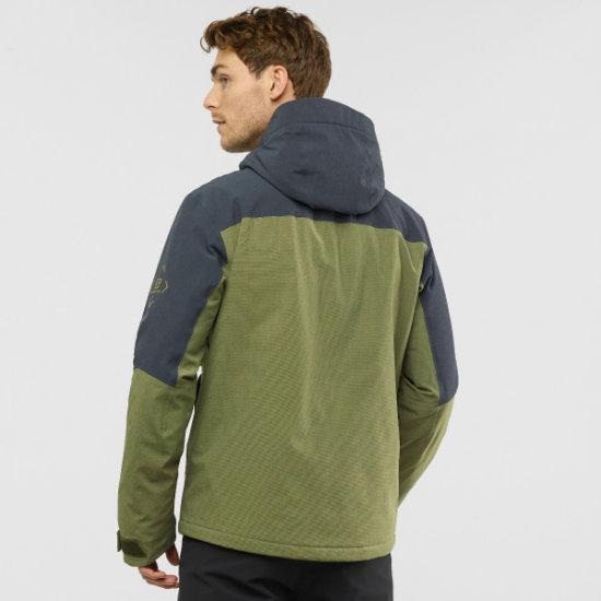 Salomon Untracked Jacket - Photo of detail