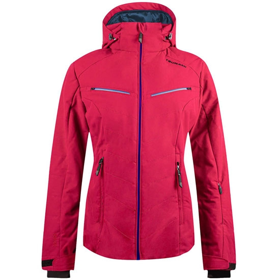 Tsunami Puffy Plain Jacket W - Pink