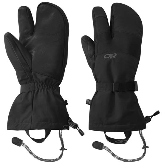 Outdoor Research Highcamp 3Finger - Black