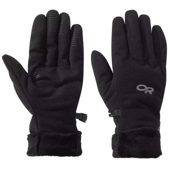 Outdoor Research Fuzzy Sensor Gloves W - Black