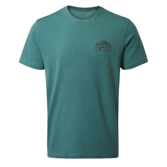 Rab Stance Hex Tee - Bright Arctic