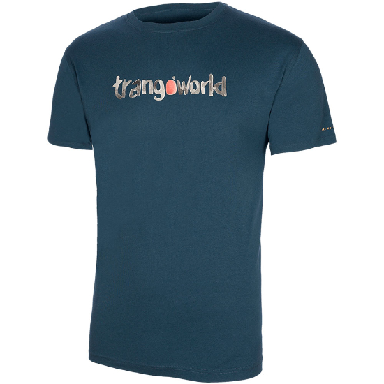 Trangoworld Watercolour Tee - Blue