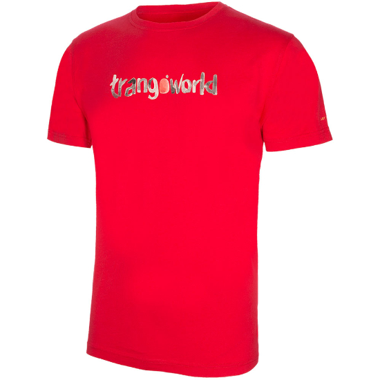 Trangoworld Watercolour Tee - Red