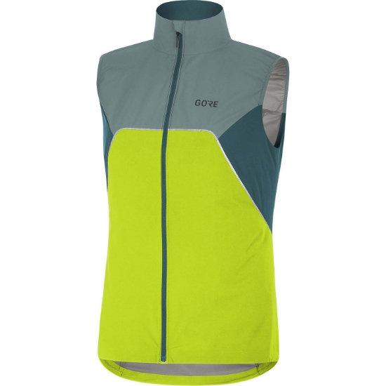 Gore R7 Partial GTX Vest W - Citrus Green/N