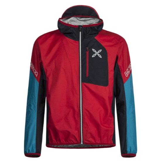 Montura Rain Safe Jacket - Rosso/Marine