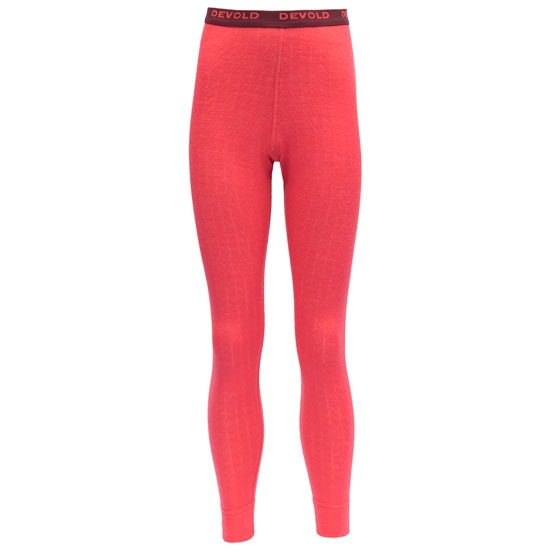 Devold Duo Active Junior Long Johns - Poppy