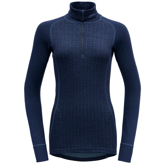 Devold Duo Active Woman Zip Neck - Evening
