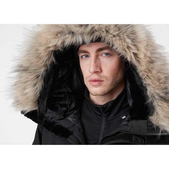 Helly Hansen Arctic Patrol Parka - Photo of detail