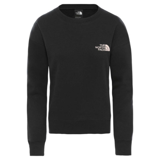 The North Face Parks Slightly Cropped Crew W - Tnf Black