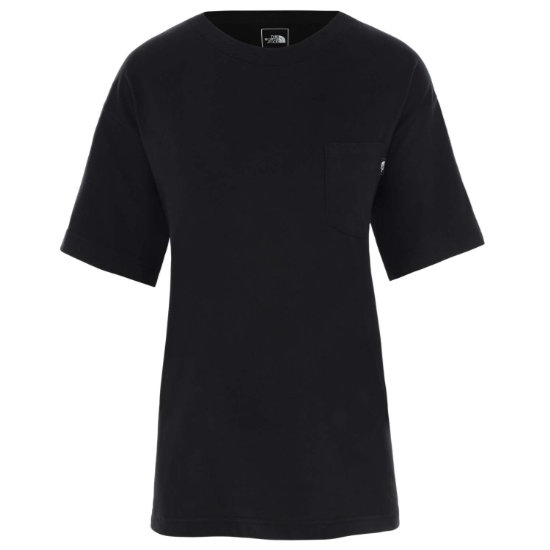 The North Face Relaxed Pocket Tee W - Tnf Black