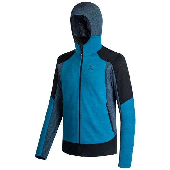 Montura Stretch Color Hoody Jacket - Blu Ottanio