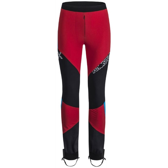 Montura Skisky Grade Pants - Rosso/Turchese