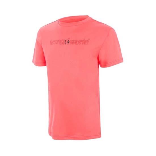 Trangoworld Salenques Vt Shirt Jr - Fluor Coral