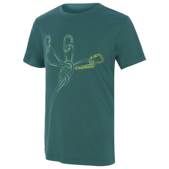 Trangoworld Camiseta Tomin - Verde Lago