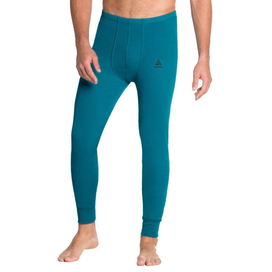 Odlo Active Warm Eco Baselayer Pants - Tumultuous Sea