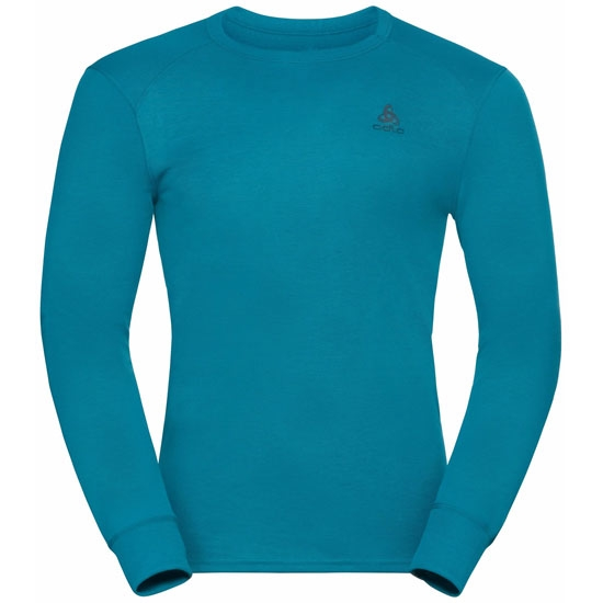 Odlo Active Warm Eco Long-Sleeve Baselayer Top - Tumultuous
