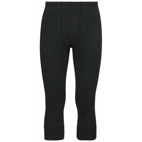 Odlo Active Warm Eco 3/4 Baselayer Pants - Black