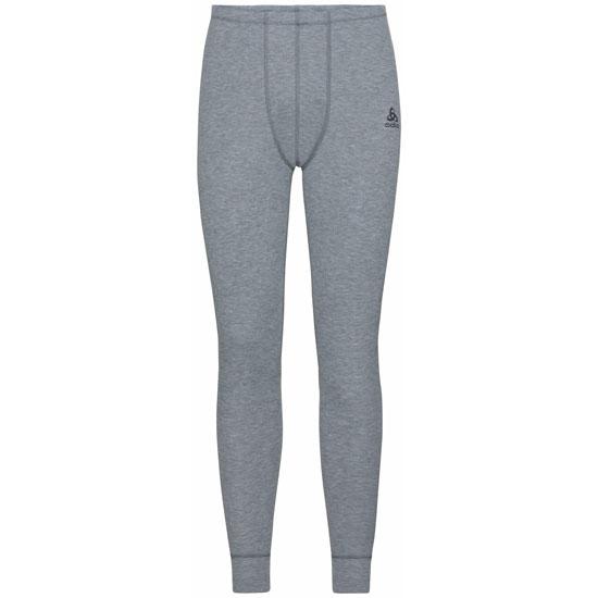Odlo Active Warm Eco Baselayer Pants - Grey Melange