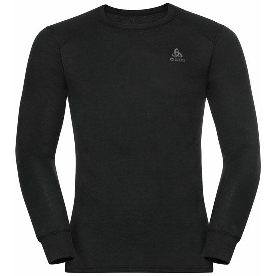Odlo Active Warm Eco Long-Sleeve Baselayer Top - Black