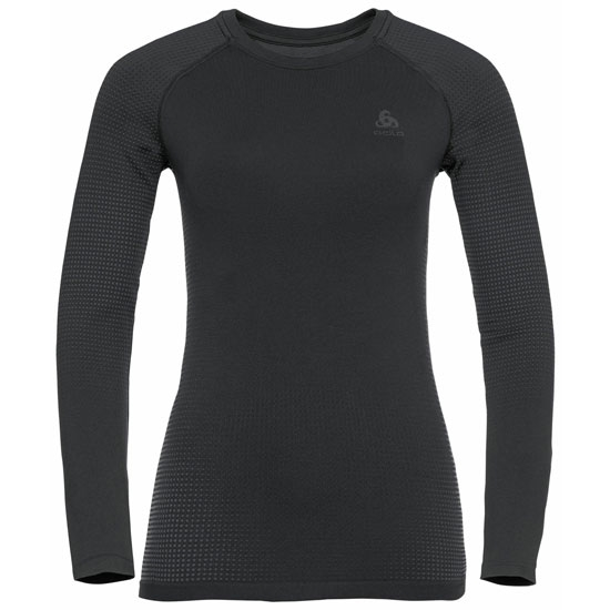 Odlo Performance Warm Eco Long Sleeve Baselayer Top W - Black