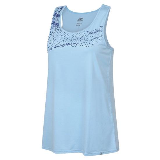 Hannah Airine Top W - Cool Blue