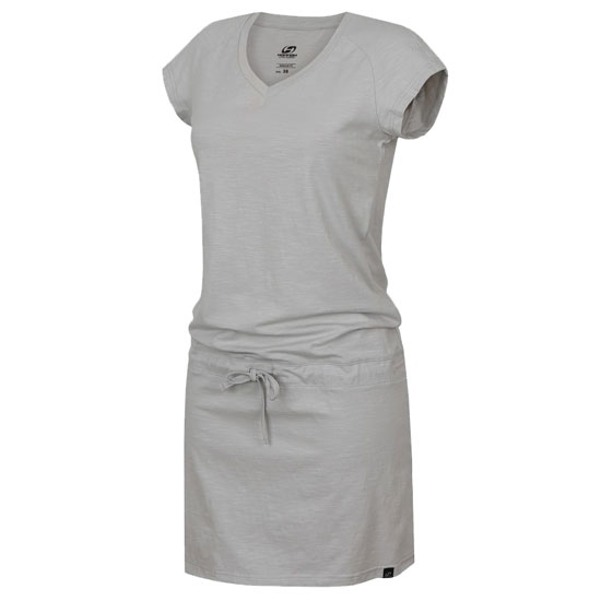 Hannah Catia II Dress W - Glacier gray
