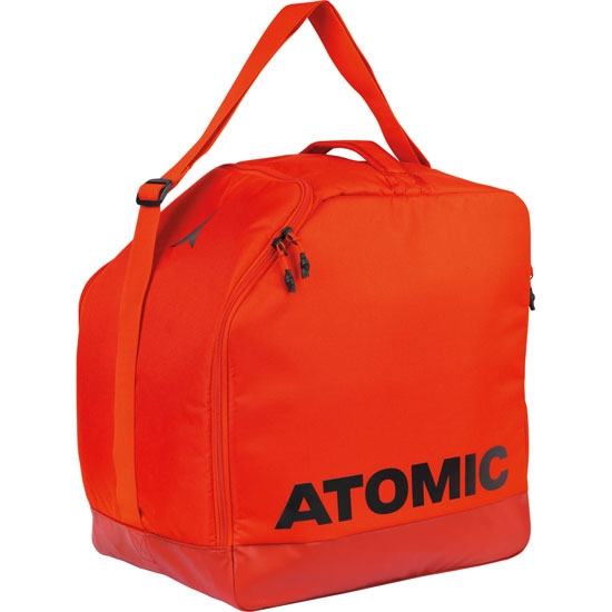 Atomic Boot & Helmet Bag - Bright Red/Dark Red