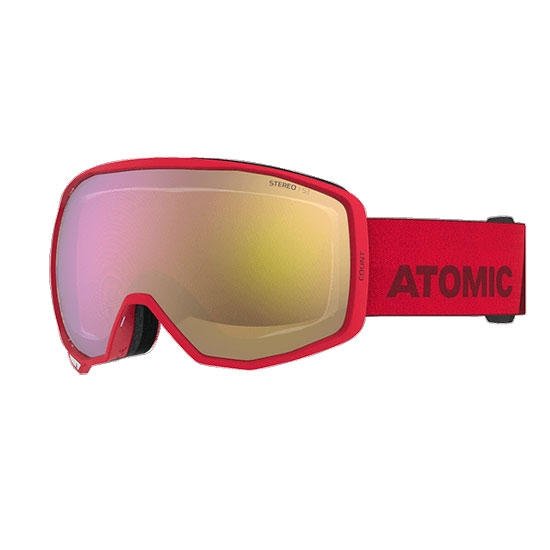 Atomic Count Stereo - Red