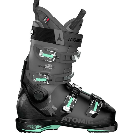 Atomic Hawx Ultra 95 S W Thermoformable - Black/Anthracite/Mint